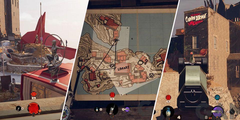 Deathloop: как решить загадку в сейфе под особняком Алексиса